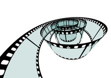 Classic Film Strip - Format 3:2 - Vector. Transparent Film Strip Vector Illustration on White Background - Format 3:2 royalty free illustration