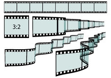 Classic Film Strip - Format 3:2 - Vector Stock Photos