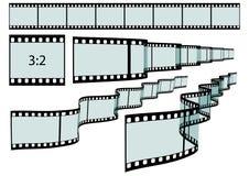 Classis filmu pasek wektor - formata 3:2 - royalty ilustracja
