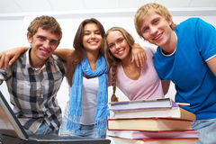 Classmates Royalty Free Stock Images
