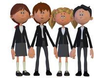Classmates, friends Stock Image