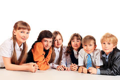 Classmates Royalty Free Stock Photos