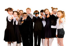 Classmates Royalty Free Stock Photo