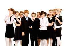 Classmates Royalty Free Stock Photos