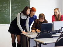 In Classroom Stock Photography