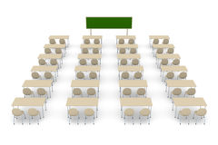Classroom 2 Royalty Free Stock Photo