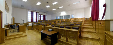 Classroom 2. Classroom at the faculty of medicine, podgorica Stock Photography