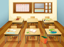 Classroom vector illustration