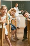 In the classroom Royalty Free Stock Photography