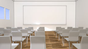 Classroom and blackboard Royalty Free Stock Photos