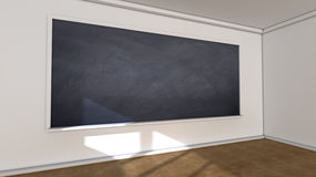 Classroom and blackboard Royalty Free Stock Photography