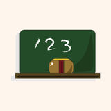 Classroom blackbroad theme elements vector,eps Stock Photos