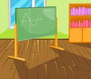 Classroom Cartoon Stock Photography