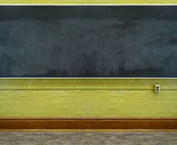 Classroom Chalkboard. Chalkboard in a recently renovated college classroom Stock Photos