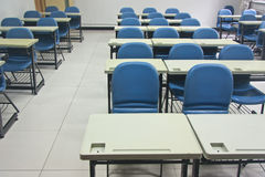 Classroom in China. This photo is taken at the end of my four years college life, and It's taken from the front of classroom Stock Photography