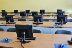 Classroom computer Stock Photos