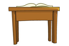 Classroom desk Royalty Free Stock Image