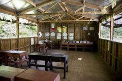 Classroom elementary school, Solomon Islands Stock Photo