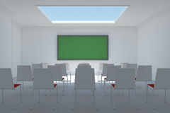 Classroom frontal Stock Photography