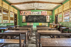 Classroom in Ghana, West Africa Royalty Free Stock Image