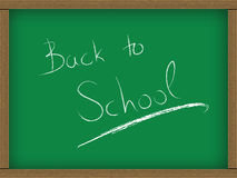 Classroom greenboard Stock Image