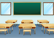 A classroom Royalty Free Stock Photos