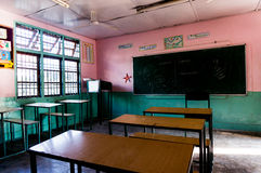 Classroom in an indian school Stock Photos