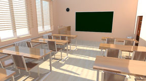 Classroom interior Royalty Free Stock Images