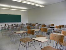 Classroom memories Royalty Free Stock Photo