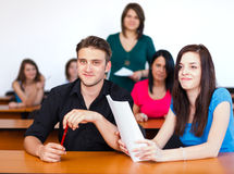 In Classroom Royalty Free Stock Image