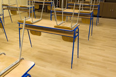 Classroom school empty Royalty Free Stock Photos