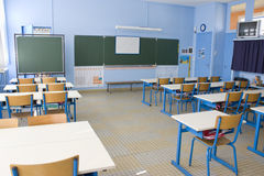 Classroom at school Royalty Free Stock Photo
