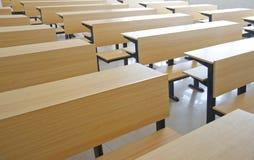 Classroom seats Stock Photo