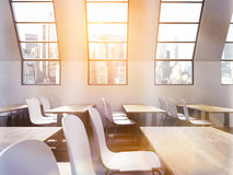 Classroom sideview Royalty Free Stock Image