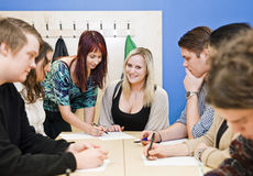 Classroom situation Stock Photography