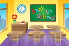 Classroom theme image 2 Royalty Free Stock Photo