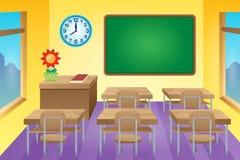 Classroom theme image 1 Royalty Free Stock Image