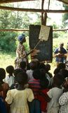 A classroom in Uganda. Stock Photography