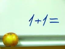 Classroom whiteboard Stock Image