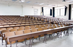 Classroom and windows 2 Stock Photography