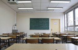 Classrooom vide photo libre de droits