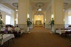Classy cafe interior Royalty Free Stock Photo