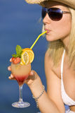 Classy Cocktail Stock Photo