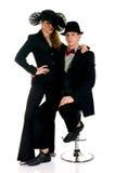 Classy couple Royalty Free Stock Photography