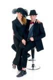 Classy couple Royalty Free Stock Photo