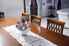 Classy dining room Stock Images