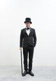 Classy gentleman Stock Image
