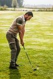 Classy golfer Royalty Free Stock Photo