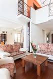 Classy house - bright interior Stock Image