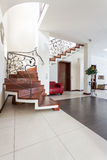 Classy house - modern interior. Classy house - interior of modern classic house Royalty Free Stock Photo